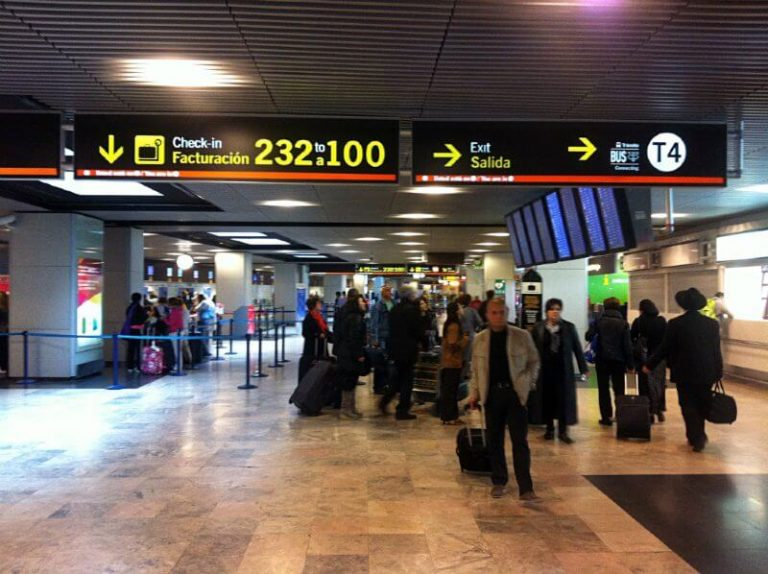 Aeropuerto de Madrid Barajas Adolfo Suarez