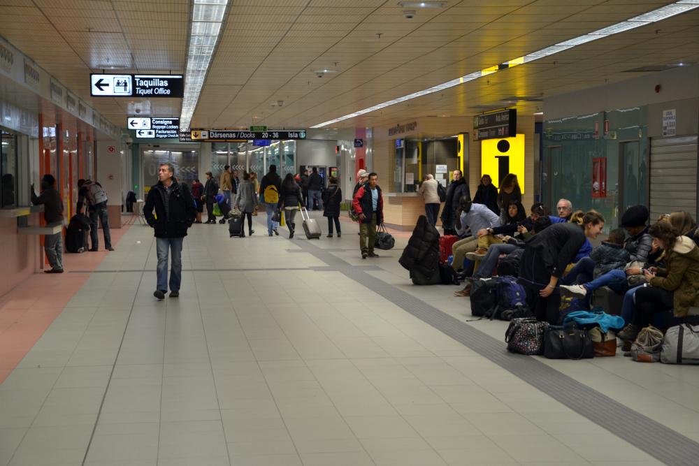 Avenida America Station Madrid