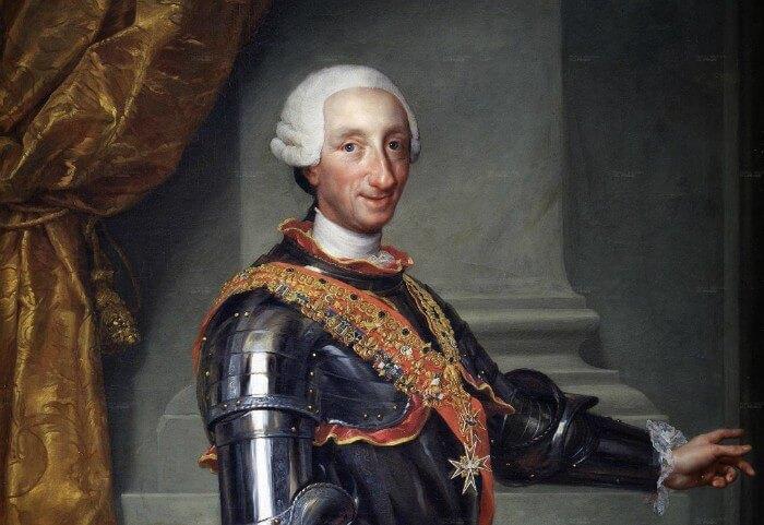 Rey de España Carlos III