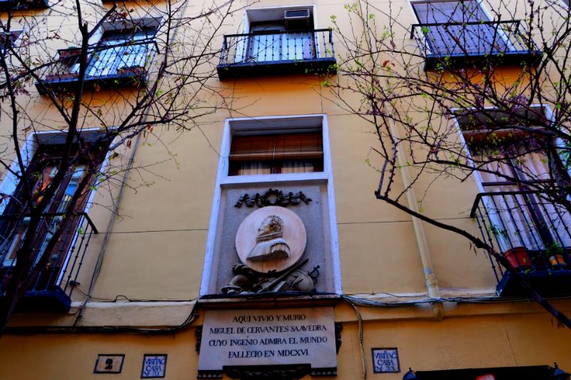Casa Cervantes Barrio LasLetras