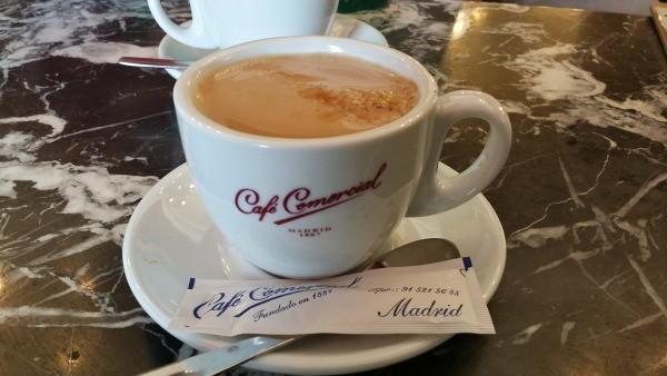 Cafés con historia en Madrid