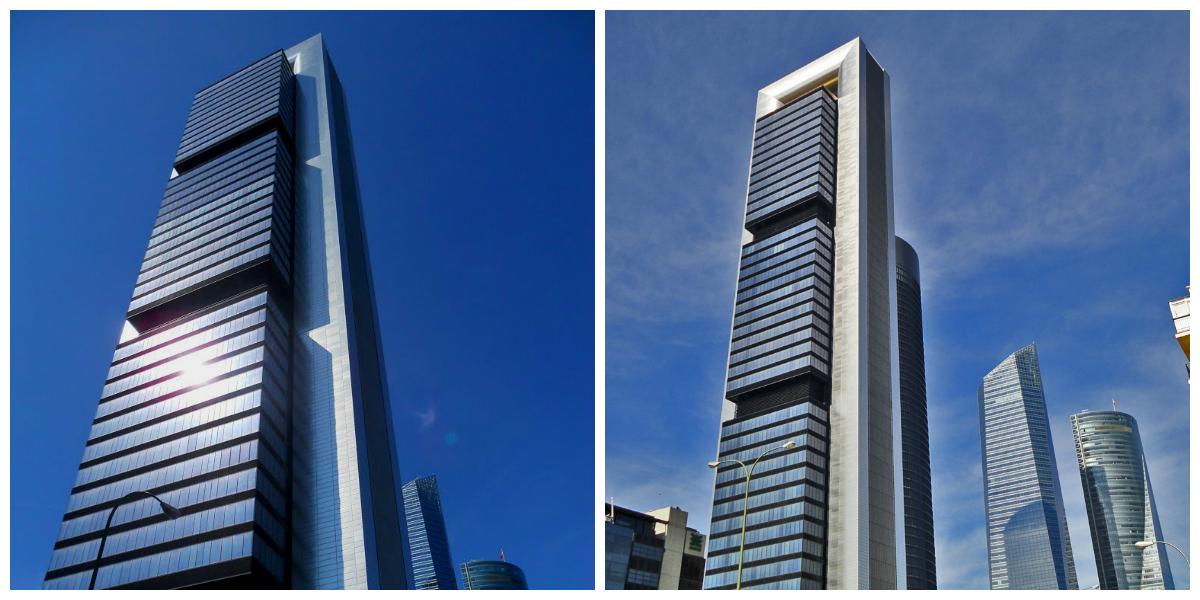Collage Torre CEPSA