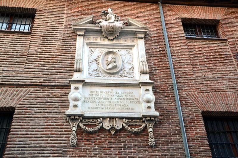 Convento Trinitarias Madrid Cervantes