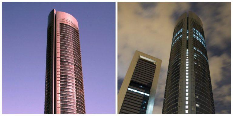 edificios mas altos de capital de españa
