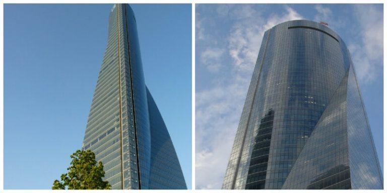 Edificios mas altos de Madrid