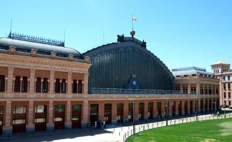 Estación de Atocha en Madrid