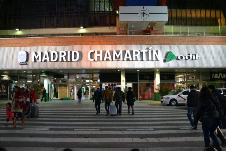 Estación de Chamartín en Madrid
