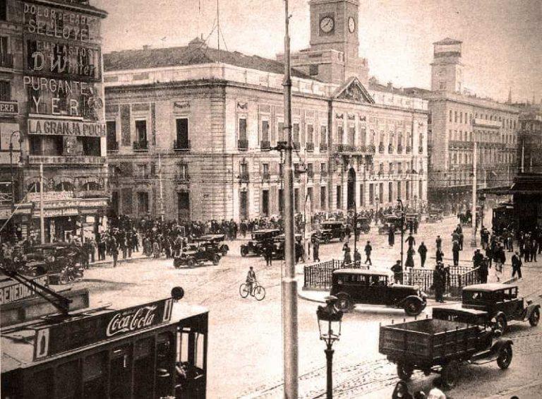 Fotos antiguas en blanco y negro Madrid