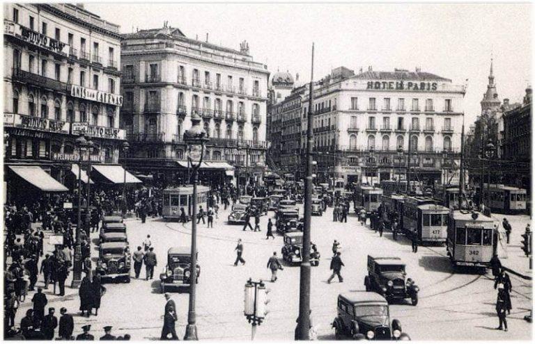 Fotos antiguas de Madrid 1935