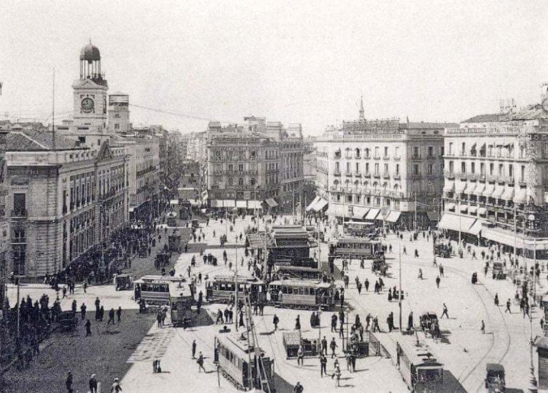 Fotos antiguas de Madrid 1921