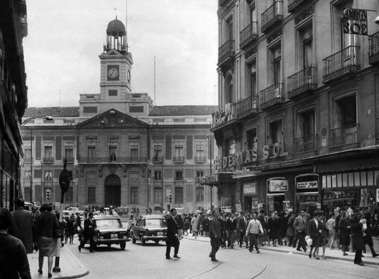 Fotos antiguas de Madrid 1966