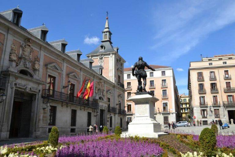 Que visitar en Madrid Plaza de la Villa