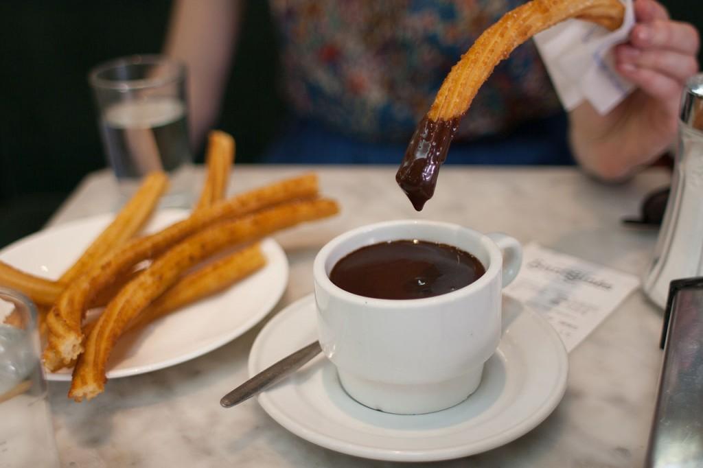 5 Cafes históricos en Madrid: Chocolatería San Ginés