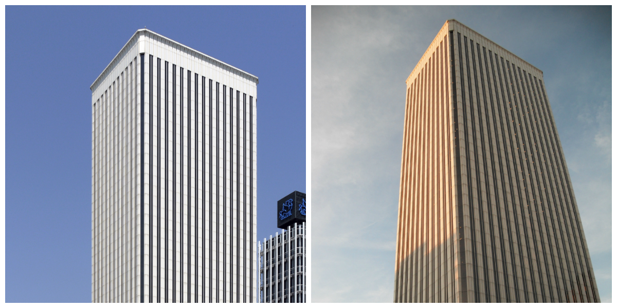 collage torre picasso