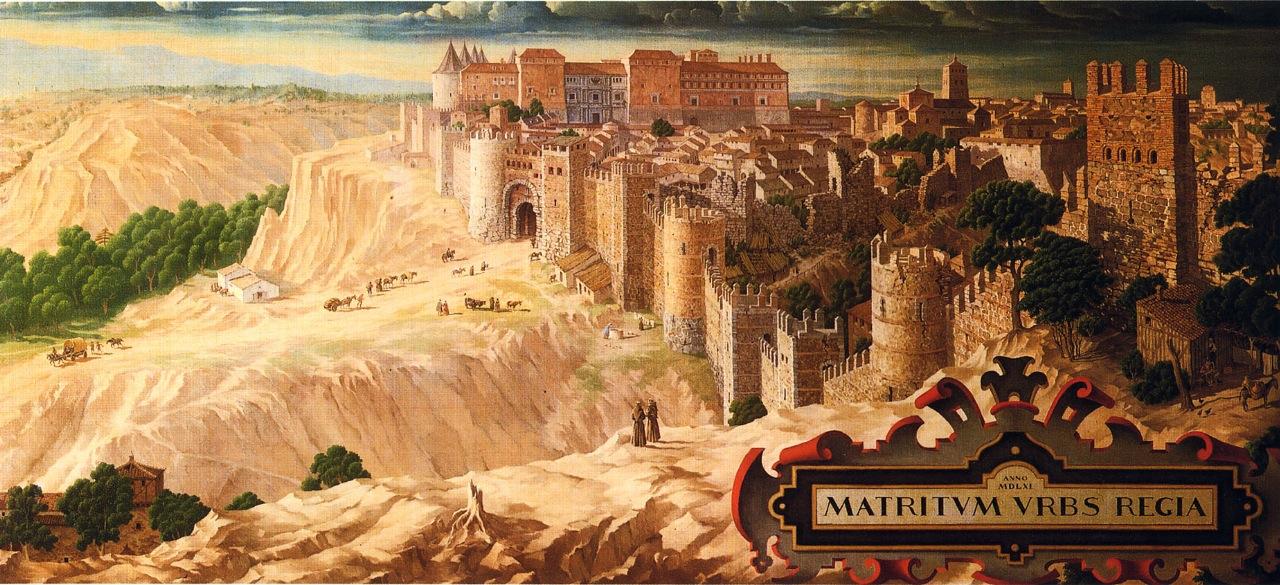 madrid en 1561