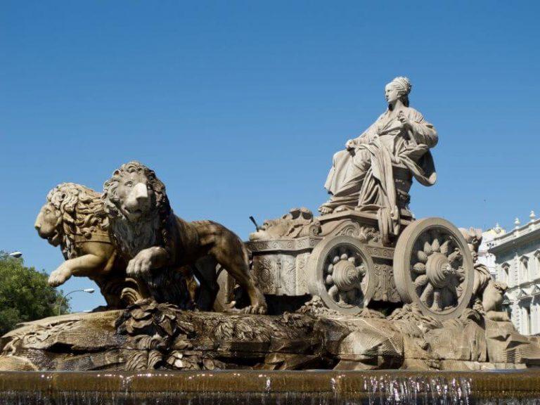 que visitar en Madrid Fuente Cibeles