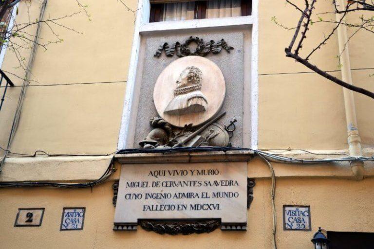 Que visitar en Madrid Casa de Miguel Cervantes