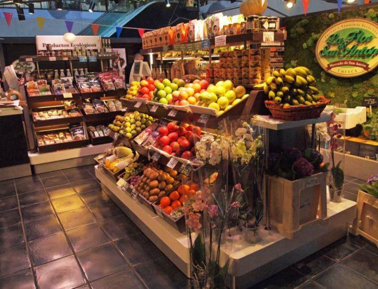 Mercado de San Anton en Madrid