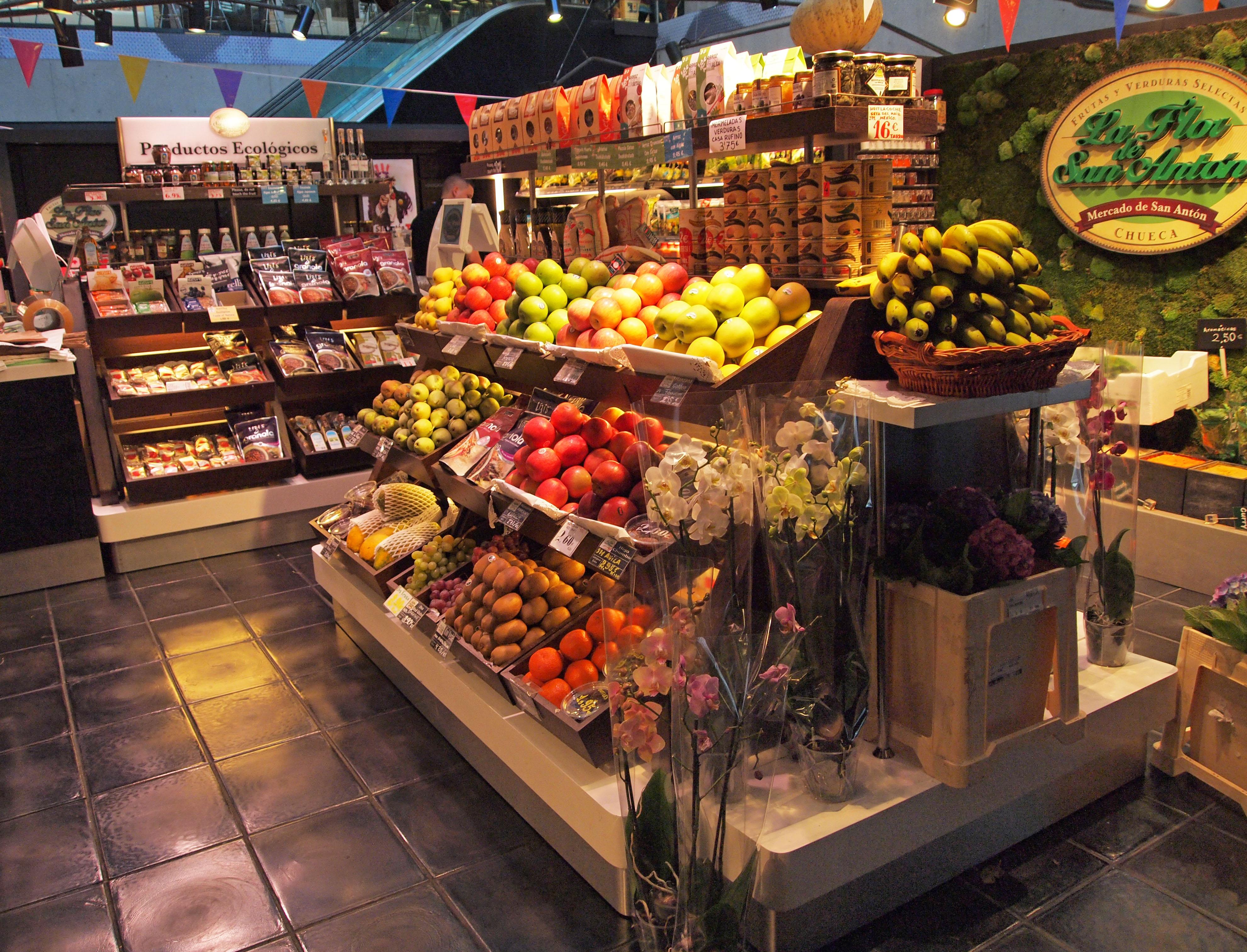 Mercado San Antón / Wikipedia (Flickr / C.C.)