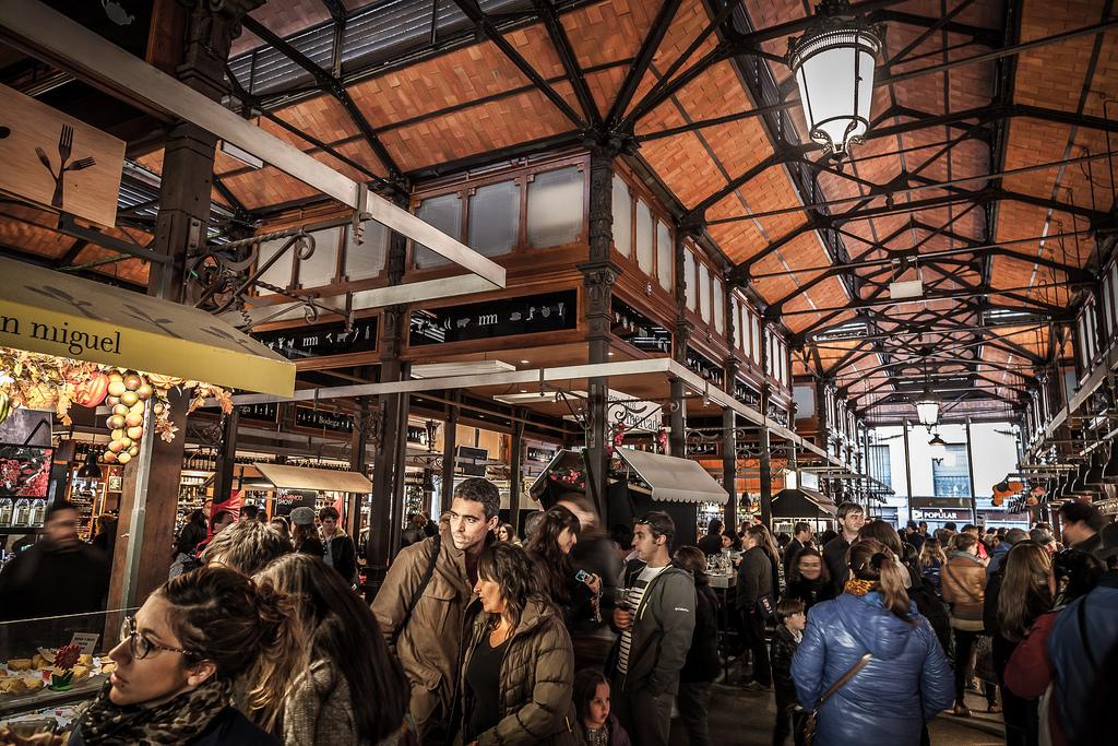 Mercado de San Miguel / dtpancio (Flickr / C.C.)