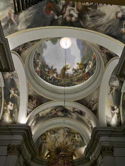 Frescos de Goya Ermita San Antonio de la Florida