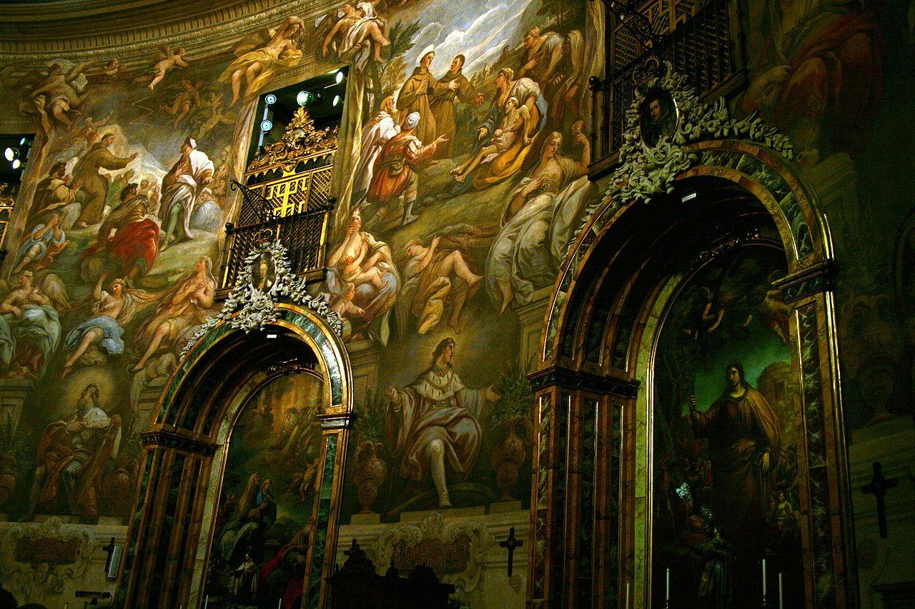 """Frescos de la iglesia de San Antonio de los Alemanes, considerada la """"Capilla Sixtina de Madrid"""" / Wikipedia C.C."""