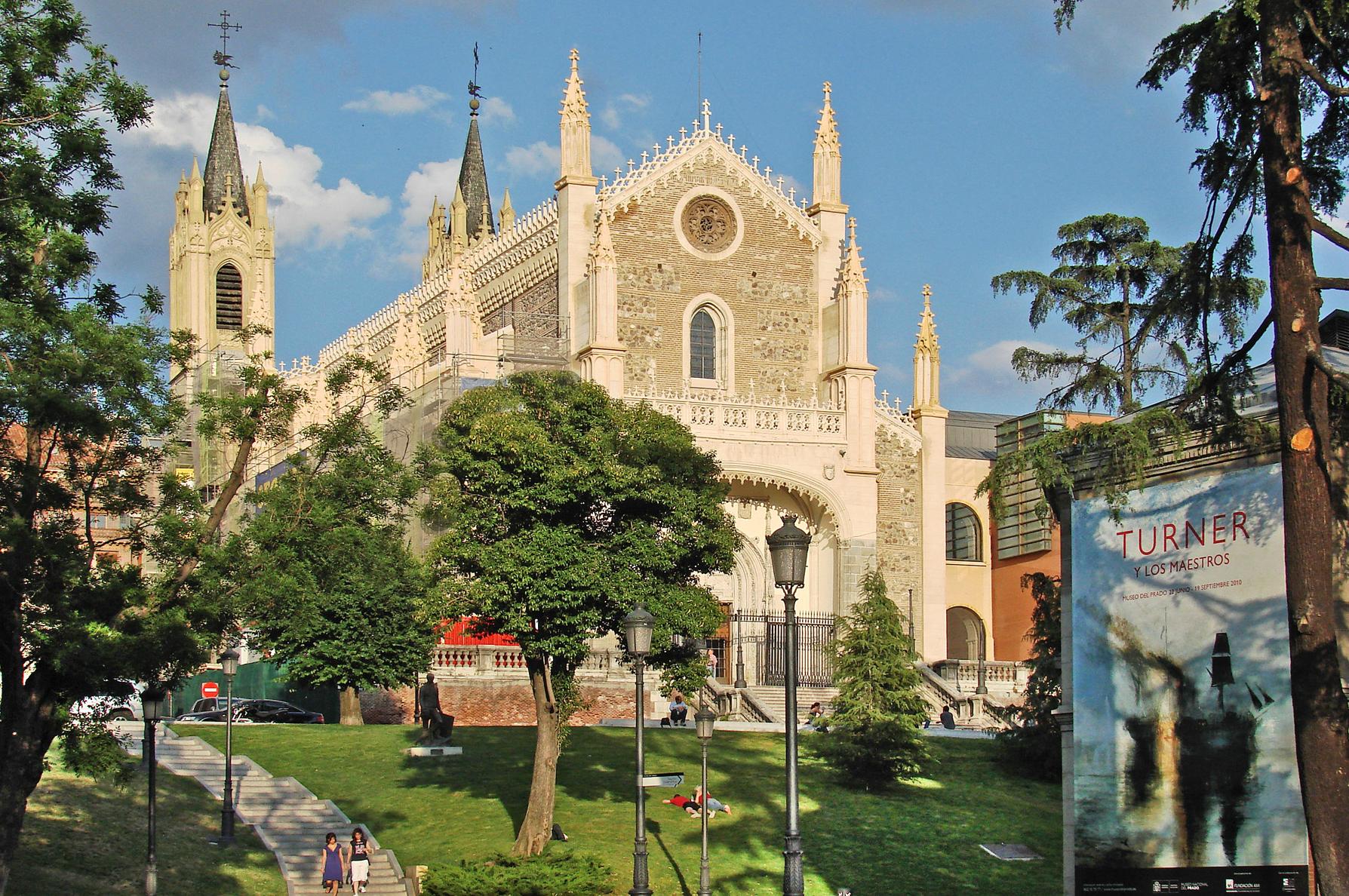 Iglesia de Los Jerónimos / Wikipedia C.C.