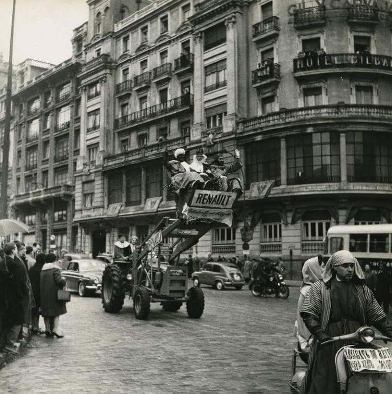 Cabalgata de los Reyes Magos en Madrid