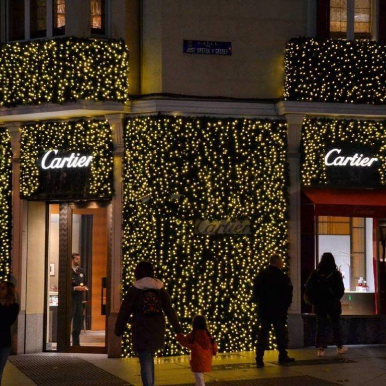 Iluminacion de Navidad en Madrid