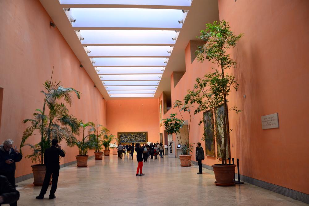 El Museo Thyssen en Madrid abrió sus puertas en 1993 y alberga la colección de la familia Thyssen-Bornemisza, una de las más ricas de Europa