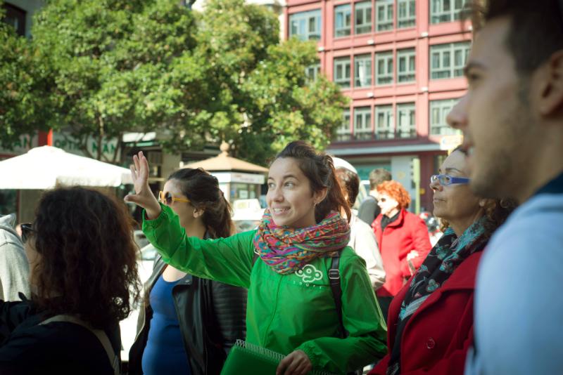 Busca nuestros guías de verde y descubre Madrid de una manera diferente