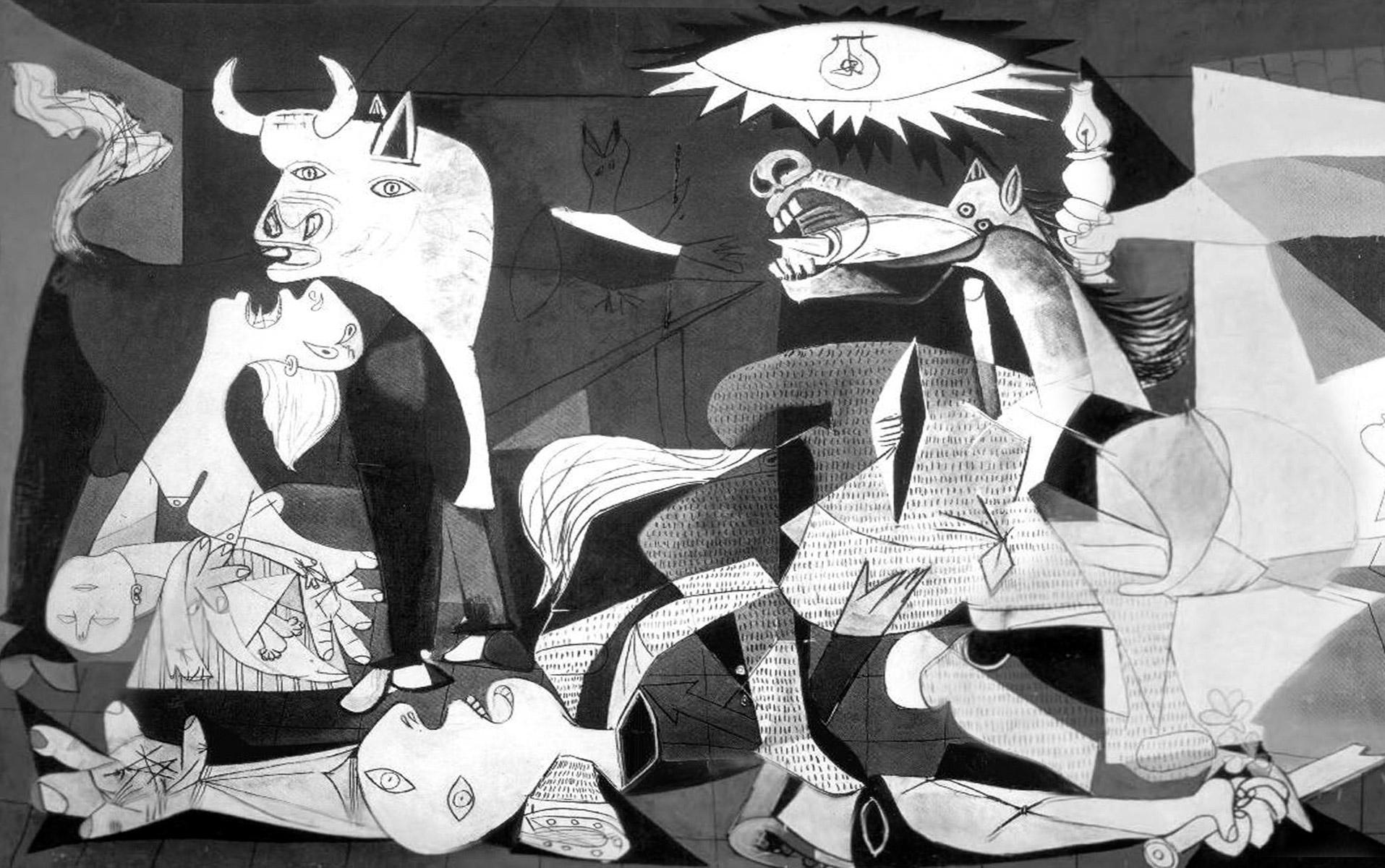 """En el Museo Reina Sofia podrás admirar la obra maestra de Pablo Picasso, """"El Guernica"""""""