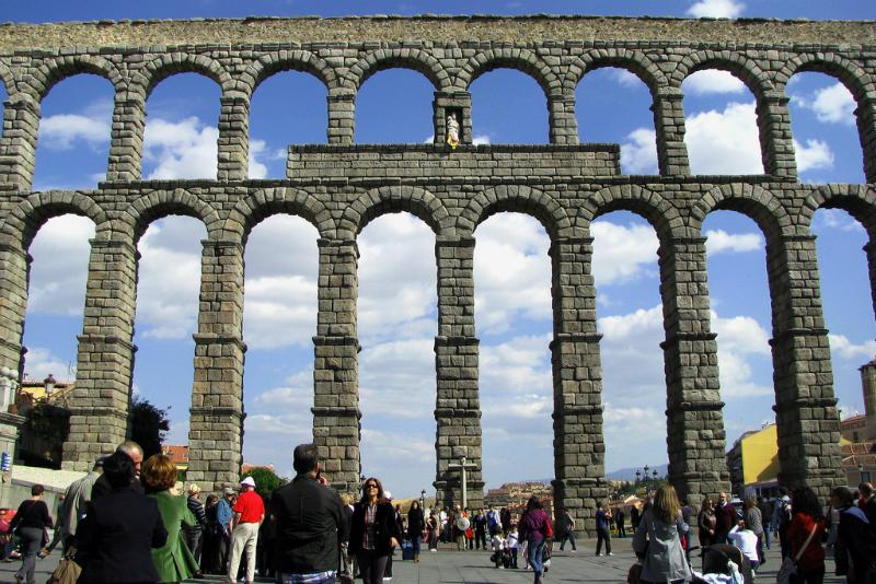 Acueducto Romano de Segovia / Foto: rubenvike (Flickr / C.C.)