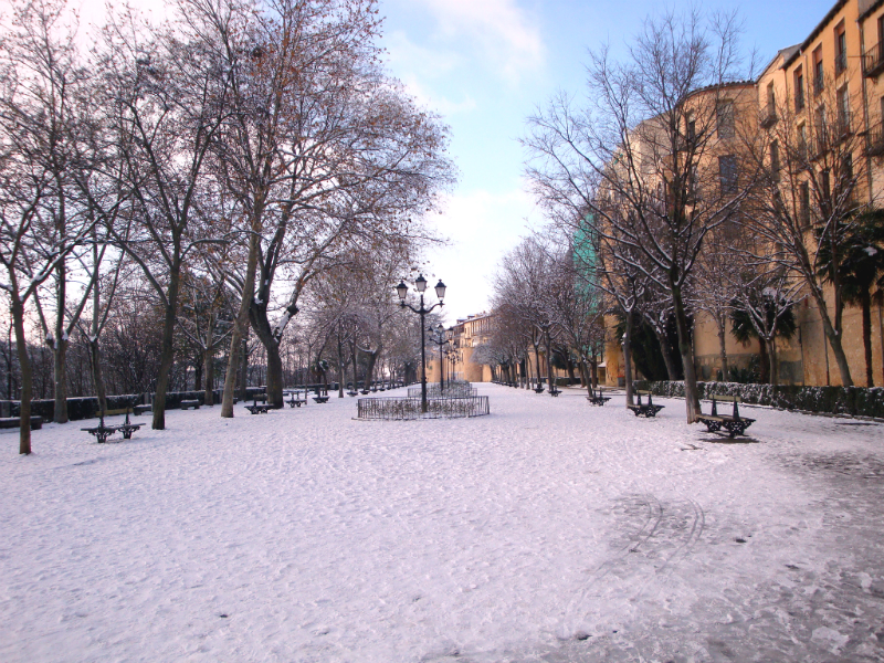 Las nevadas en Segovia durante el invierno no son extrañas / Foto: Ilmarel (Flickr / C.C.)