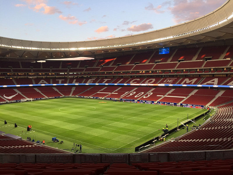 Qué hacer en Madrid cuando llueve - El estadio Wanda Metropolitano hará las delicias de los amantes del fútbol / Foto: TU Lanki (Flickr / C.C.)