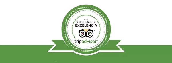 Durante 5 años consecutivos, OgoTours ha sido galardonada con Certificados de Excelencia por la web TripAdvisor