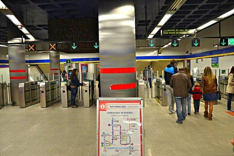 Ahorrar moviéndose en metro Madrid