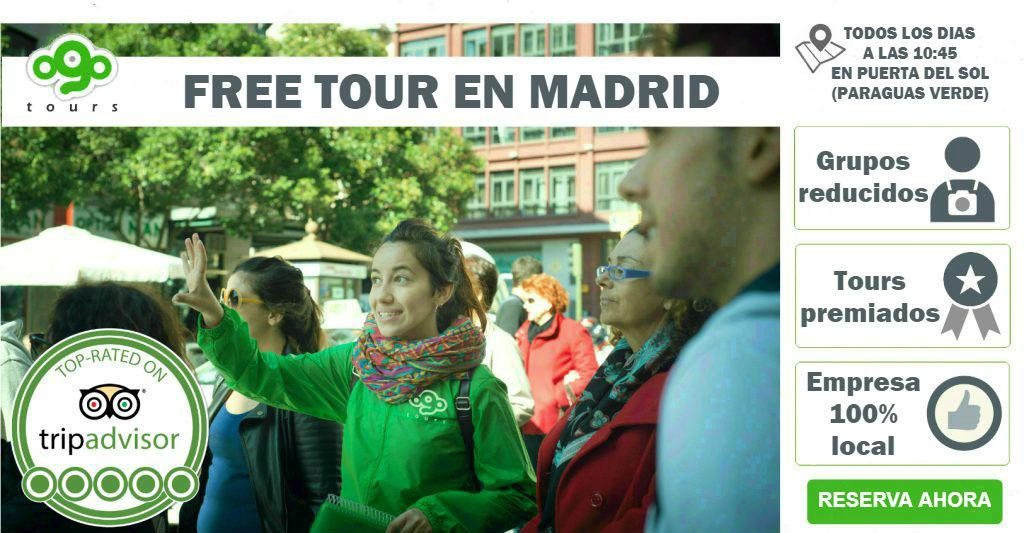Free Tour en Madrid | Todos los días a las 10:45 | Guías Locales | +700 opiniones en TripAdvisor | RESERVA AHORA TU PLAZA: Grupos reducidos (20 pers. max.)