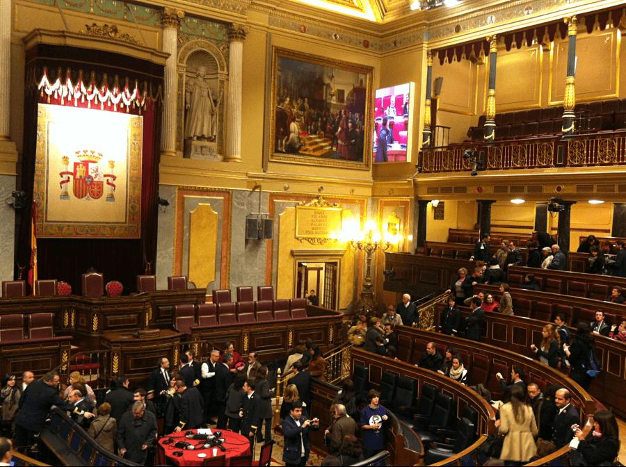 Visita Guiada Madrid en Congreso de los Diputados